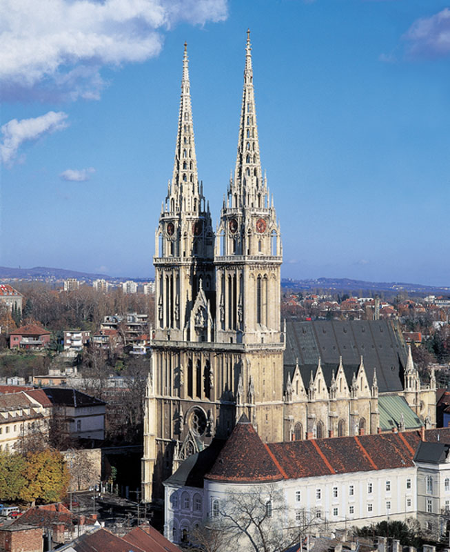 Zagrebacka Katedrala Rođen U Zagrebu